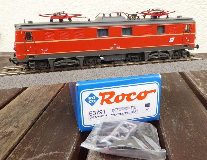 Roco 63791 H0 Locomotiva Elettrica Rh 1010 004-8 Della ÖBB Ep.4 5 con Dss ,Molto