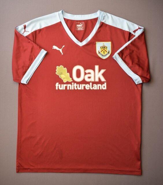 Burnley Jersey 2015 2016 Home XL Shirt Mens Football ...