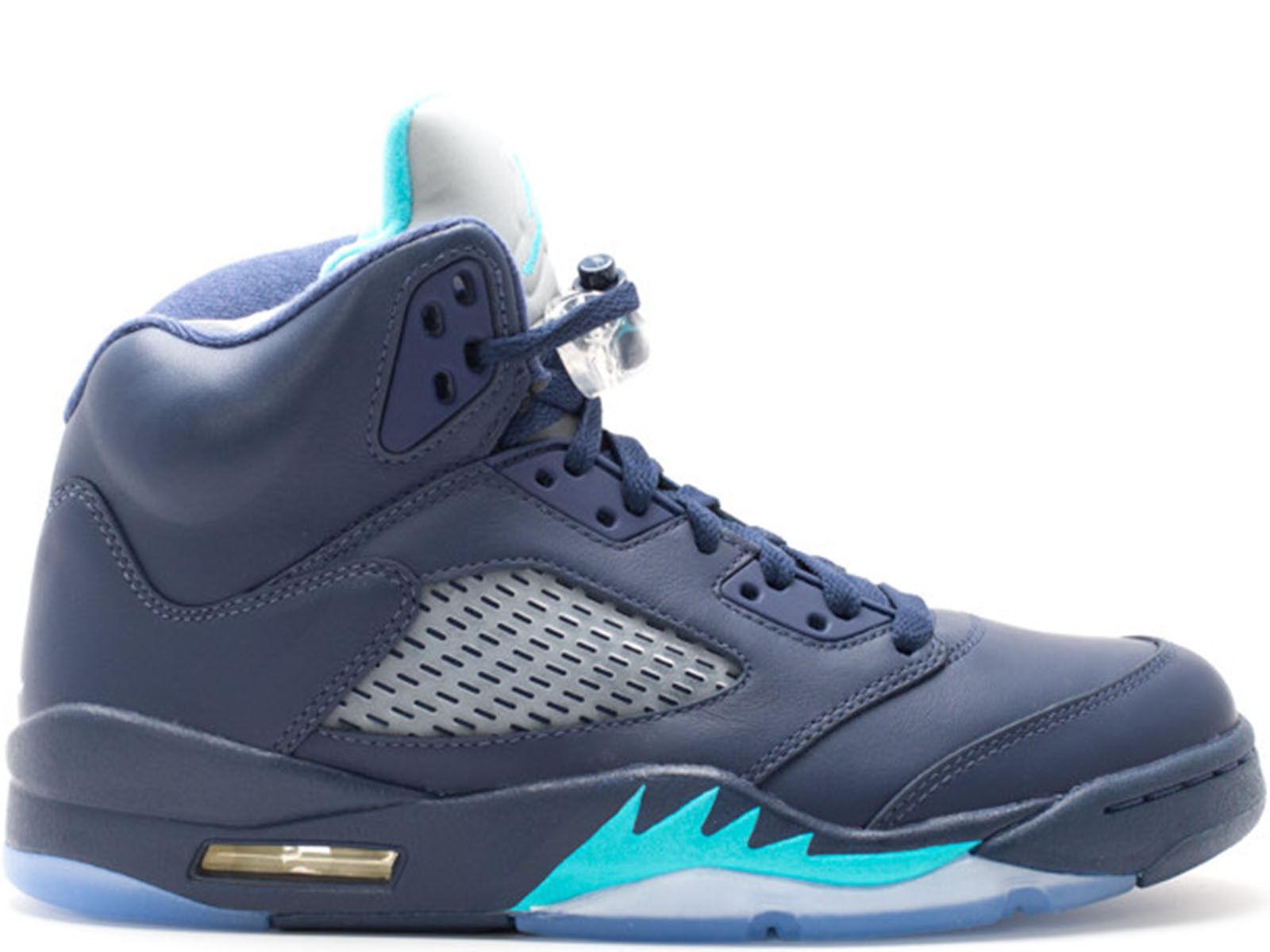 Men's Brand New Air Jordan 5 Retro  Hornets  Athletic Sneakers