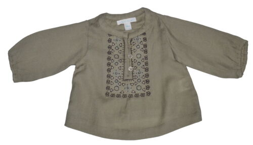 Marie Chantal Baby Girl 100/% Woven Wool Top Various Colour Sizes NWOT SP £66