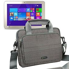 "Briefcase Sleeve Handle Case Shoulder Bag For 10.1"" Toshiba Encore 2 10 WT10-A32"