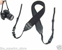 Polaroid Professional Neoprene Adjustable Cushioned Neck Strap For Digital Slr