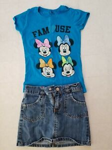 7d1c9cc98 Image is loading Disney-Girls-Minnie-Mouse-Famouse-glitter-expression-faces-