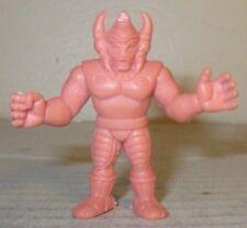 """80s M.U.S.C.L.E Men Kinnikuman Flesh Color 2/"""" Black Tomahawk Figure #145 Mattel"""