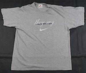 c5c7003e5 Rare Vintage NIKE They Say I Throw Like A Girl Girlfriend T Shirt ...