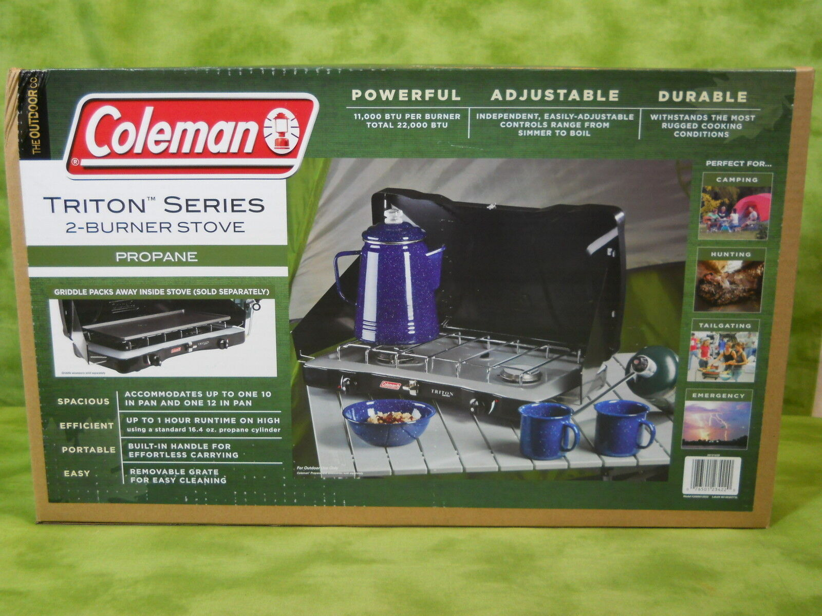 Coleman Propane Stove  TRITON SERIES 2 Burner  store online