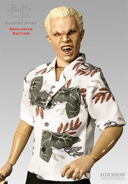 SIDESHOW Exclusive Edition Buffy the Vampire Slayer Vampire Spike 1/6 Figure