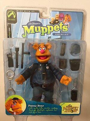 Palisades Muppet Show PATROL BEAR FOZZIE Figure BRAND NEW & SEALED (Disney) | eBay