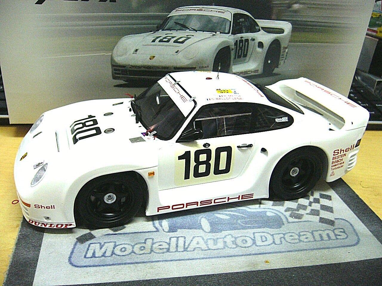 Porsche 959  961 Le Mans  180 Metge 1986 Taille B Spark Resin nouveau RAR 1 18  plus vendu