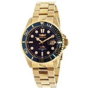 Invicta-Men-039-s-Pro-Diver-30024-Gold-Stainless-Steel-Japanese-Quartz-Diving-Watch