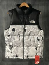 16718e5121a6 item 3 The North Face Nuptse Vest Novelty Newspaper Down Black   White Size  M NWT -The North Face Nuptse Vest Novelty Newspaper Down Black   White Size  M ...