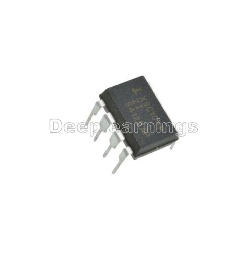 10 PCS NEW X9C104P DIP-8 X9C104 Digital Potentiometer IC