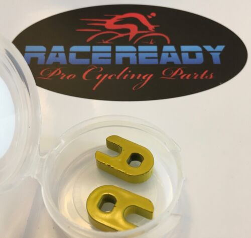 ..Yellow... RACE READY 2 Presta Valve Core Removal Tools... Snap Top Container