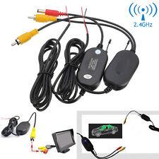 2.4G Wireless Rear View Video Transmitter Receiver for Reversing Backup Camera