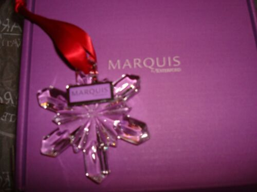 MARQUIS BY WATERFORD  SNOWFLAKE 2 3//4 INCHES