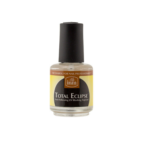INM Total Eclipse UV Blocking Top Coat Lacquer Polish for Acrylic ...