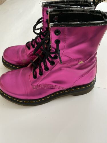Koram Flash Pink Dr Martens Size US 7 See Pics And