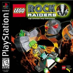 Lego-Rock-Raiders-PS1-Great-Condition-Complete-Fast-Shipping