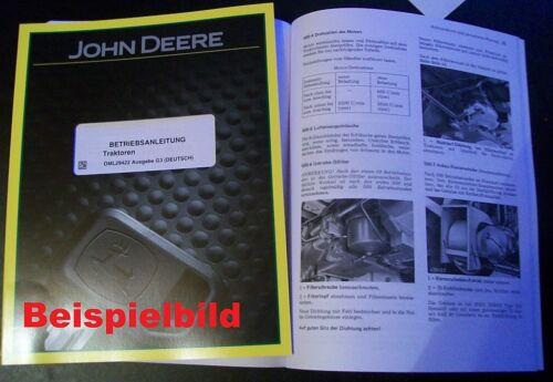 John Deere Schlepper 700 Betriebsanleitung
