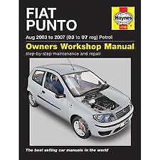 new haynes manual fiat punto petrol 03 07 car workshop repair book rh ebay co uk haynes manual new releases new beetle haynes manual