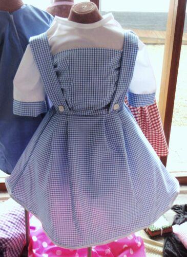 kids childrens Dorothy Wizard of oz fancy dress costume book day