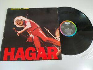 Sammy-Hagar-Live-1980-Capitol-Spain-Edition-1983-LP-Vinyl-12-034-VG-VG