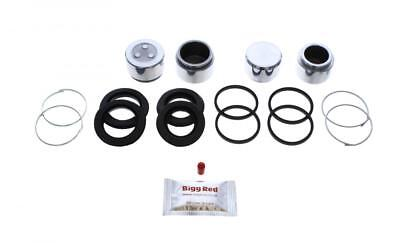 BRKP296 Pistons for MITSUBISHI EVO 5 /& 6 FRONT L /& R Brake Caliper Repair Kit