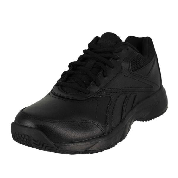 Women Reebok Work N Cushion 2.0 V70620 Black Lace-up Athletic Walking Shoes  7 be67faee0