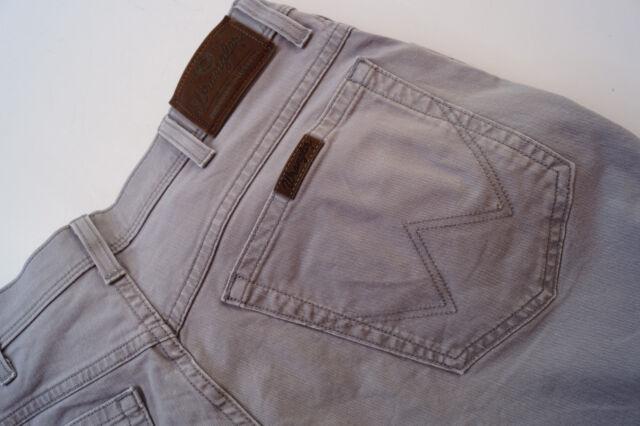 WRANGLER Regular fit Herren stretch Jeans comfort Hose 36/32 W36 L32 grau TOP #p