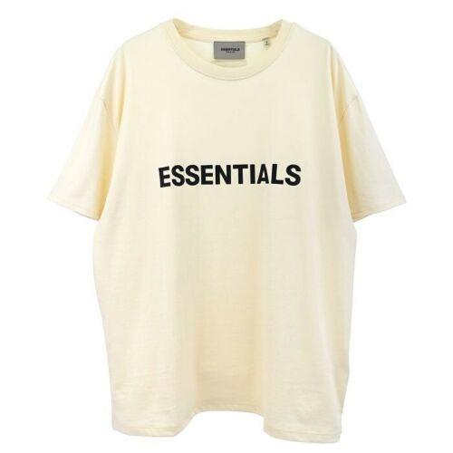 2020//SS FEAR OF GOD ESSENTIALS FOG LOGO Letters Short Sleeve T-shirt 6690
