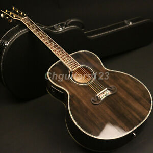 43In-Jumbo-Electric-Acoustic-Guitar-Solid-Spruce-Top-Grover-Real-Abalone-Inlay