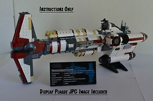 Details About Lego Star Wars Ucs Hammerhead Corvette Instructions Only Collectors Edition Moc