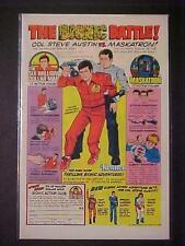 KENNER TOYS 6 MILLION DOLLAR BIONIC MAN TOY ACTION FIGURE PRINT AD~VINTAGE 1976
