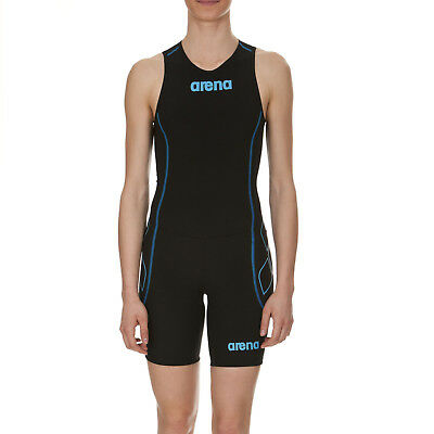 Arena St Trisuit Front Zip Mens One Piece Triathlon Running Cycling Swim Suit