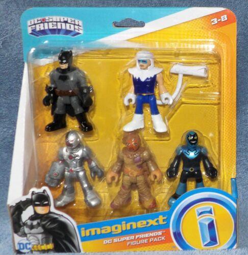 IMAGINEXT 2016 DC SUPER FRIENDS BATMAN 5 FIGURE PACK