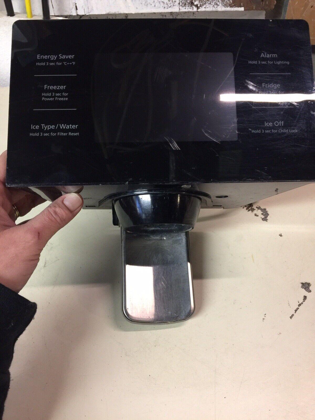 Samsung DA63-07106A Refrigerator Dispenser Control Panel-Black