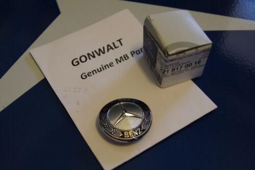 Mercedes Benz Grill Grille Badge 2218170016 W211 W212 E Class E350 E550 E63 E320