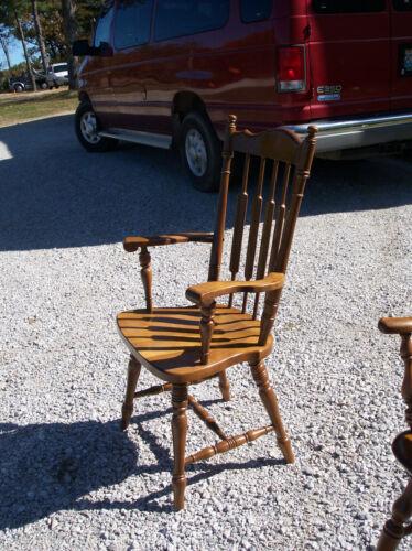 Desk Chair By S Bent bh-ac27 Maple & Cherry Armchair