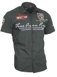 Binder-de-Luxe-Hemd-Polo-Shirt-bestickt-Stick-Herrenhemd-Kurzarm-80601-schwarz