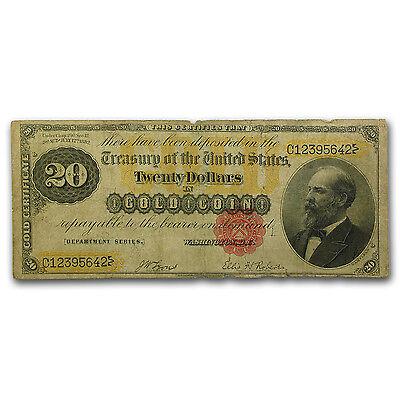 1882 $20 Gold Certificate VG - SKU #91699