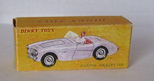 Repro Box Dinky Nr.546 Austi Healey 100