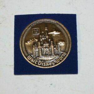 walt disney world bronze coin