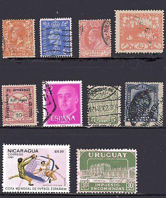 20 Stk ~ Verschiedene Briefmarken ~ International ~