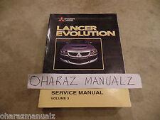 2003 Mitsubishi Lancer Evolution Service Manual Heat AC Chassis Volume 3