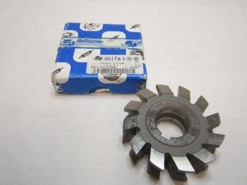 """TMX 5-703-065 1//2/"""" Concave Cutter 3/"""" Diameter 1/"""" Arbor High Speed Steel"""