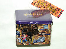 "NEW~HARRY POTTER HOGWARTS COIN BANK MINT SEALED BAG 4 1/2"" X 3 1/2""  WITH KEY"