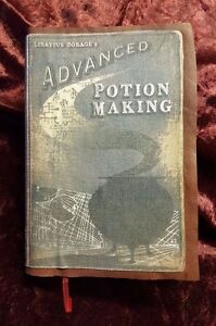 Harry-Potter-Snape-Half-Blood-Prince-Potion-Book-Rare-Handmade-Leather-300-Pages