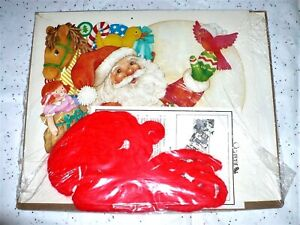 1987 CURRENT SANTA'S SLEIGH CHRISTMAS CARD GARLAND CARD ...