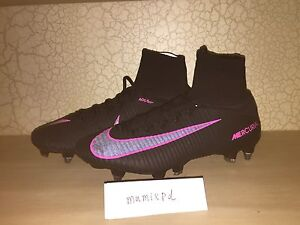 quality design 57b58 440a8 Details about NIKE MERCURIAL SUPERFLY V elite SG PRO SOCCER CLEATS  831956-006 mens 9 sample