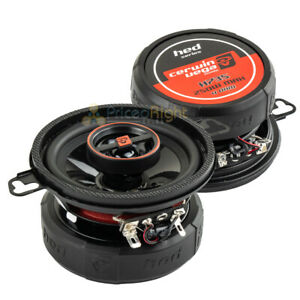 """Cerwin Vega 3.5"""" 2 Way Coaxial Speakers Car Stereo Speakers HED Series 30W RMS"""